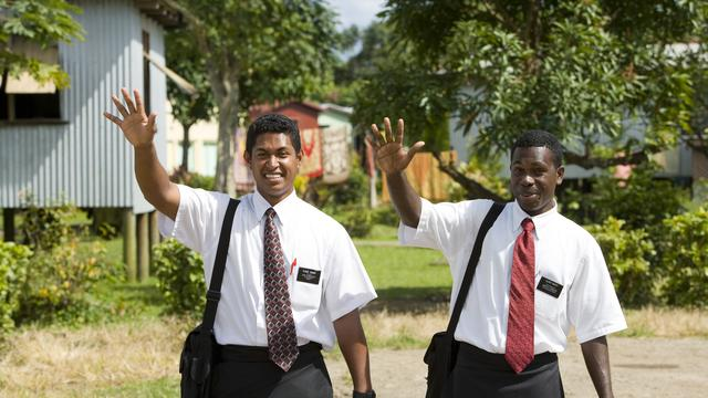 Native Fijian missionaries