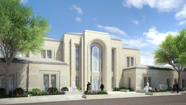 The new Paris France temple