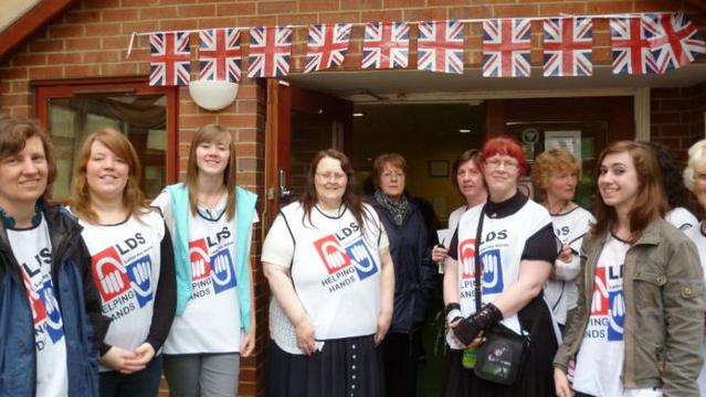 Northampton stake Jubilee day of service