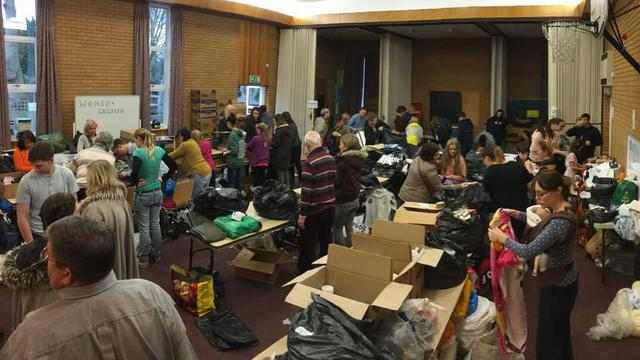 St Albans congregations collecting for refugees