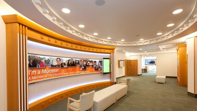 The Momons new London Visitor Centre inside display
