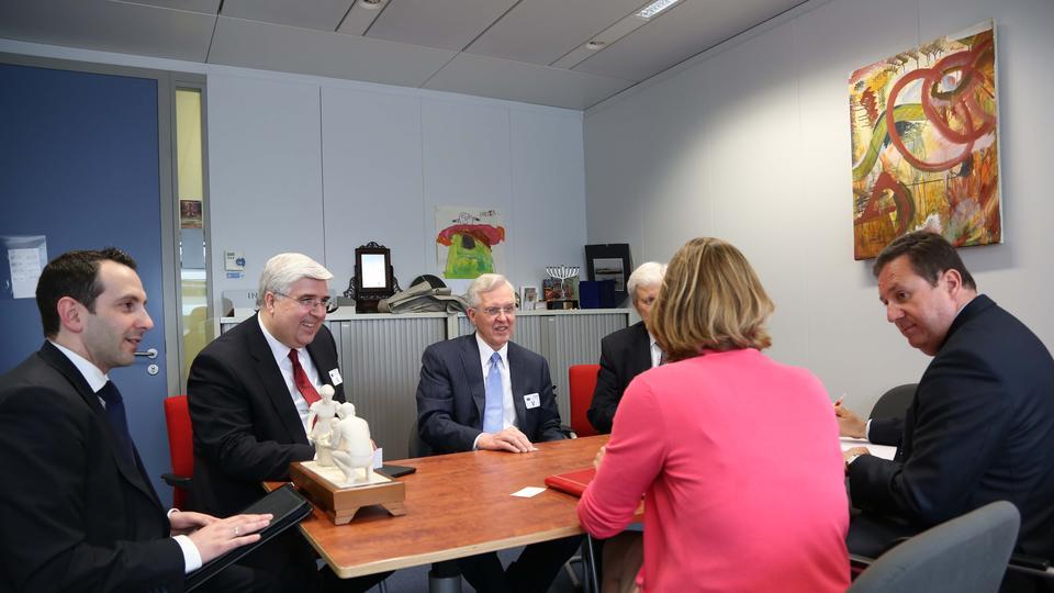 EU Office opened - Mormon Apostle honoured in Brussels