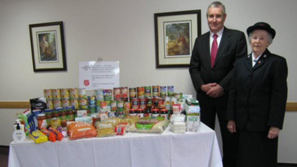 Paignton Works With Salvation Army To Dispel Food Poverty