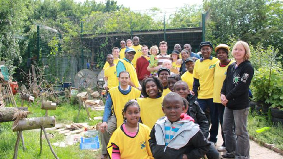 Wandsworth congregation members on the Jubilee Service project in South London